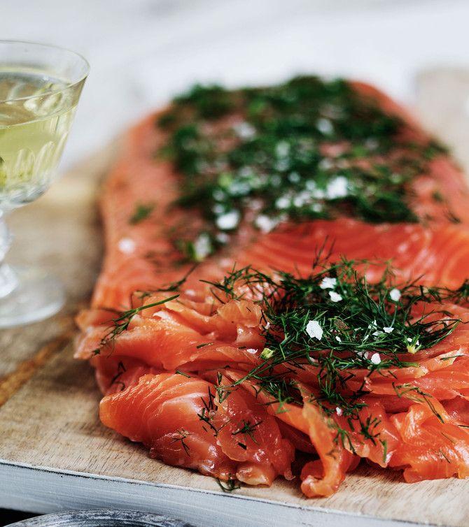 Jääkellarin lohi on maukas ja helppo kalapöydän herkku.