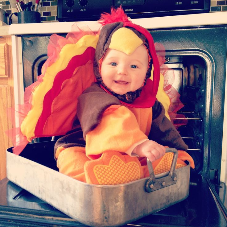 TURKEY RECIPE :)    1 Cute Baby, 1 Turkey Costume  1 Roasting Pan  No basting required ;) This year, I'm especially thankful for this little Turkey :)  Happy Thanksgiving, everyone!