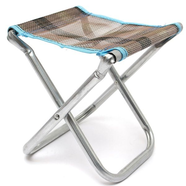 Sale 10% (8.87$) - Folding Chair Outdoor Fishing Chair Camping Hiking Chair BBQ Chair
