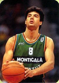 Jordi Villacampa, el alero de la Penya, el mejor....o no