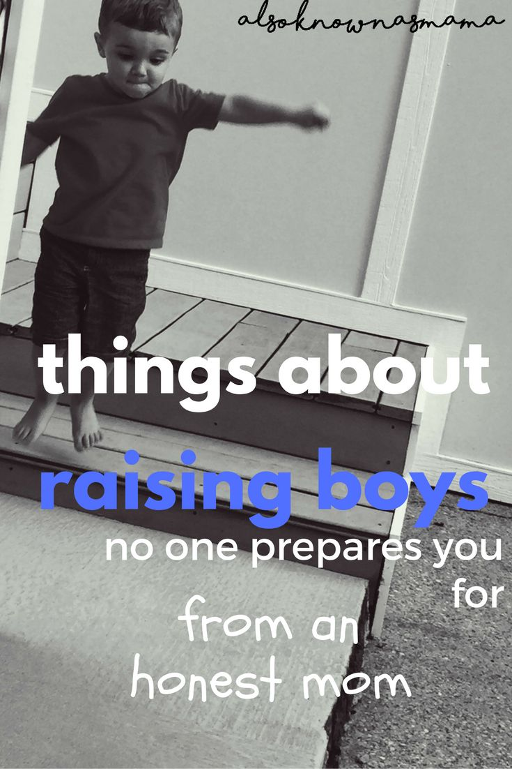 Things About Boys No One Prepares You For | From an Honest Mom | Raising Little Boys