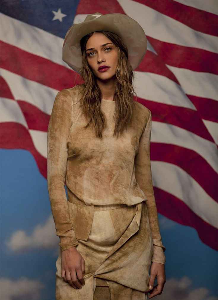Ana Beatriz Barros Stars in Americana Spread for Grey Magazine by Peppe Tortora - Page 2 of 2 | Fashion Gone Rogue: The Latest in Editorials and Campaigns
