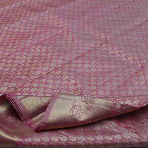 Sarangi Handwoven Kanjivaram Silk Sari - 680126866