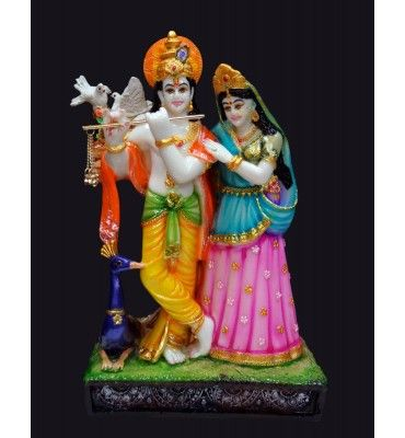 RADHA KRISHNA SMALL WITH PEACOCK Buy Wall Decor & Hangings online at low prices in India. Shop today for wall hangings, arts, wall paintings, mirros, door hangings, torans, bandanwars www.krafthub.com