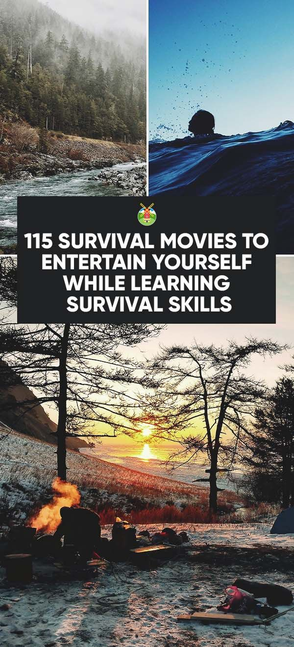 The best way to survive a cold winter is to cuddle up and binge watch this selection or survival movies. You'll even learn survival tricks at the same time!