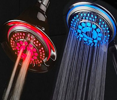 Take the pleasure of showering to the next level with The Color Changing Shower Head. This is the world's most advanced LED hand shower. It is powered by ..