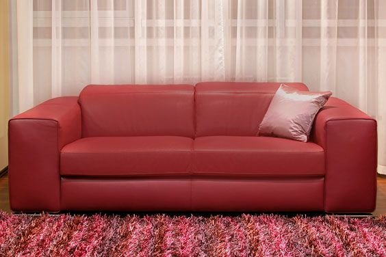 comfortable Burgundy Couch