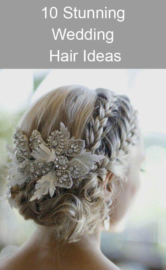 10 Stunning Wedding Hair Ideas www.kardella.com