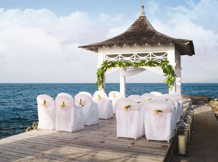 Wedding Gazebo At Couples Resorts Tower Isle Jamaica