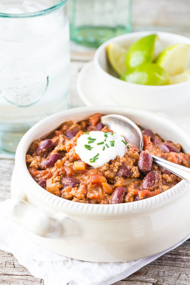 Don't miss my Easy Ground Beef Chili recipe! It's perfect fall comfort food or for a weeknight family meal!