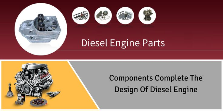 Components Complete The Design Of Diesel Engine
