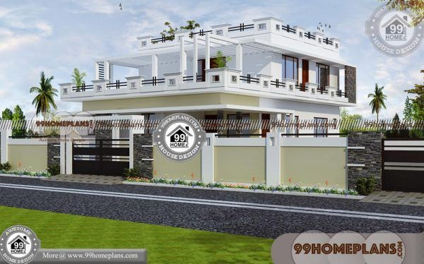 Latest Indian House Elevation 50 Best 2 Storey House Plans Collections Modern Bungalow House Plans House Plans Modern Bungalow House