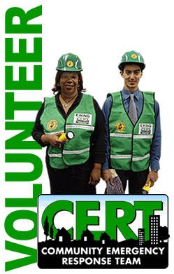 Community Emergency Response Team http://www.cert.org/ I am proud to say I am a CERT volunteer.