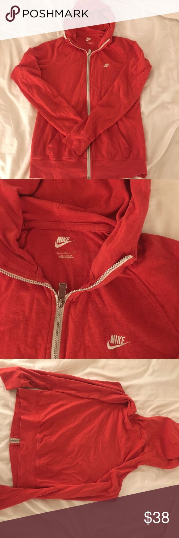 Red Nike Jacket Brand new condition. I will ship right away. Nike Jackets & Coats