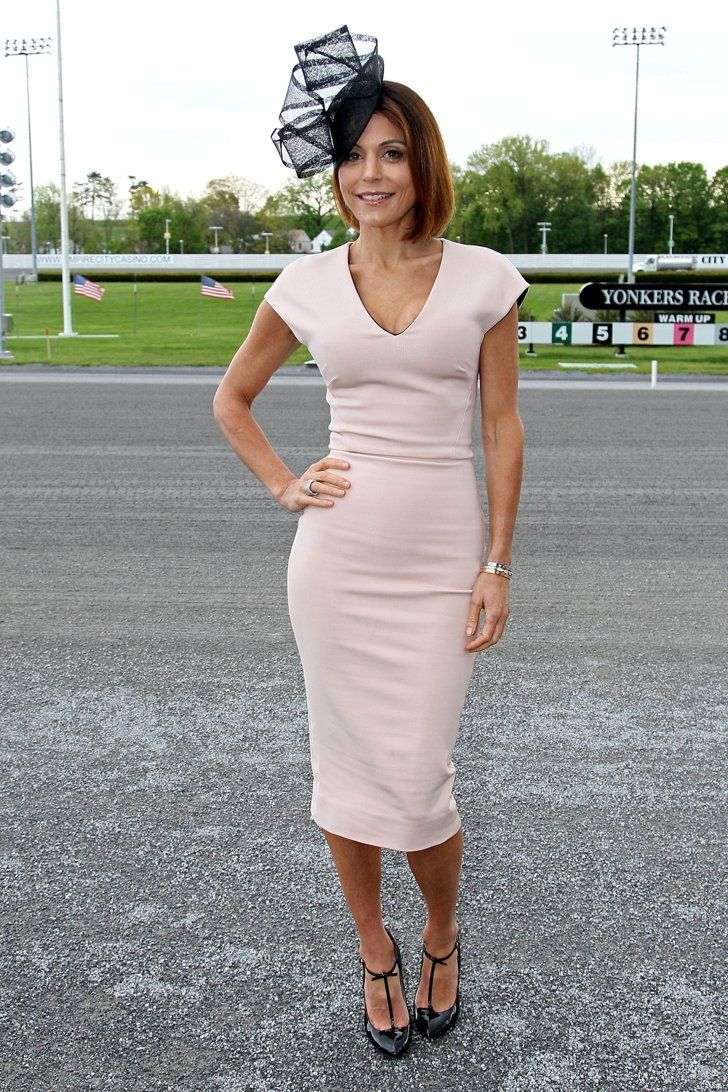 Pin for Later: This Year's Kentucky Derby Was More Like a Race For Best Style Bethenny Frankel