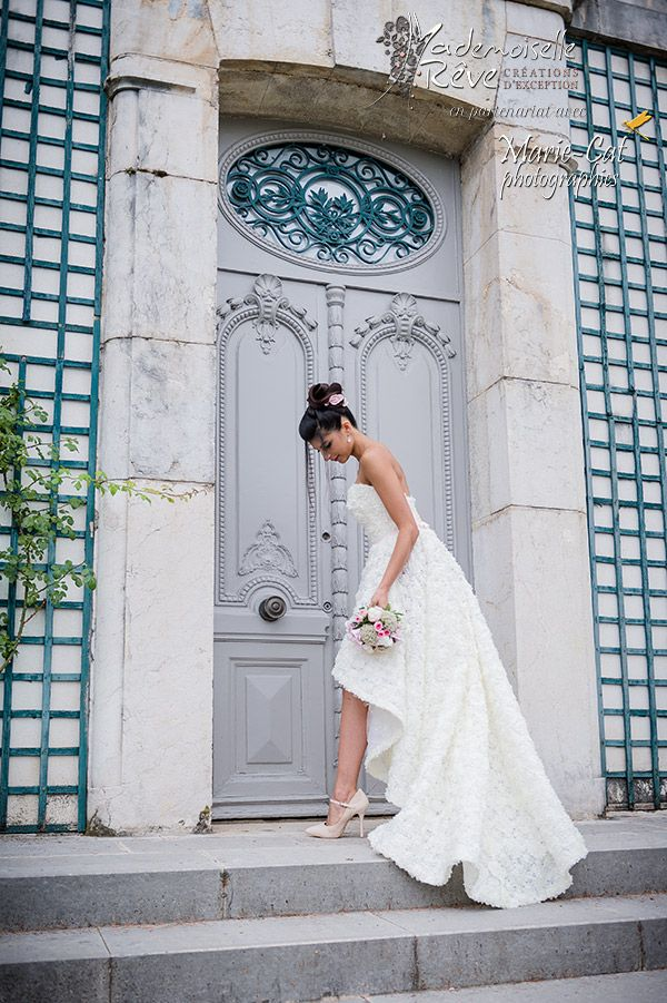 Robe de mariée mademoiselle rêve mariage Grenoble. www.mademoisellereve.fr Robes sur-mesure. Artisan d'art.