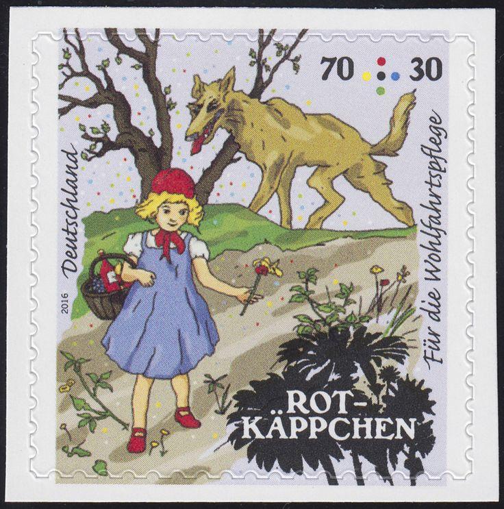 3215 Wofa Grimms Märchen - Rotkäppchen 70 Cent, selbstklebend ** · Philatelie Dietrich