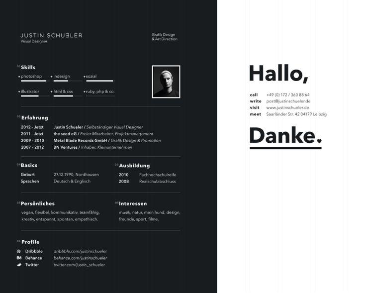Best Resumes Images On   Resume Design Design Resume