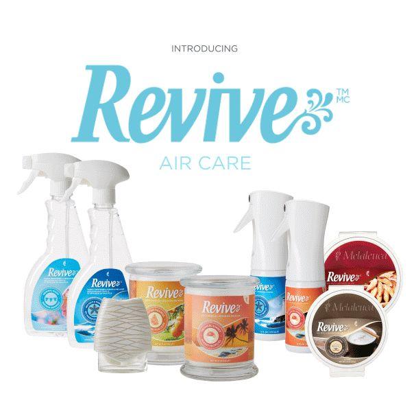Introducing all new Revive Air Care  Melaleuca.com/lovelady