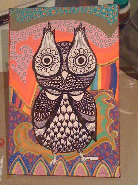 owl by Natália Wella, via Flickr