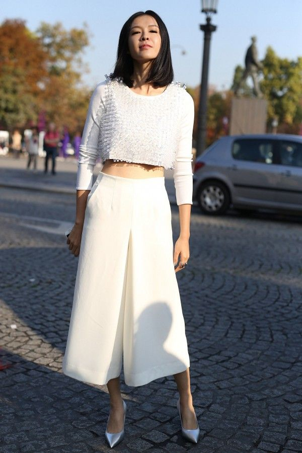 Stylish Ways To Wear Spring Culottes   theglitterguide.com