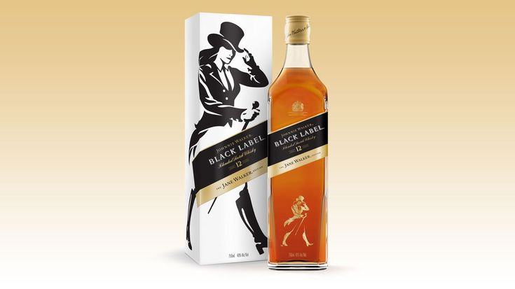 Johnnie Walker Black Label whisky gets a welcome companion in a limited Jane Walker edition.