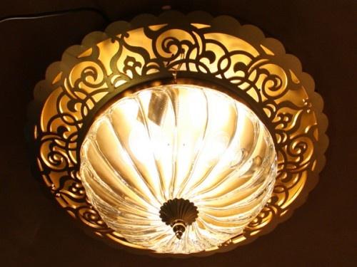 Üfleme Camlı Osmanlı Lazer Kesim Tavan Aydınlatma #ottoman #osmanli #lighting #aydinlatma