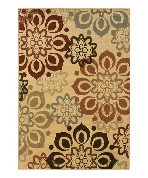 Create an atmosphere of classic comfort with this luxurious rug. With a floral-inspired pattern in a warm and welcoming palette of colors, it instantly and effortlessly transforms décor.Available in multiplesizesRug thickness: approx. 0.38''PolypropyleneMade in Egypt