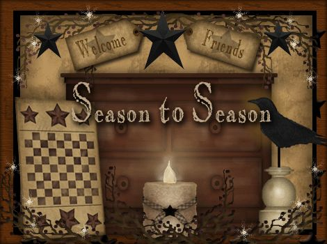 Primitive Season To Season Country Crafts For Your Home Decor