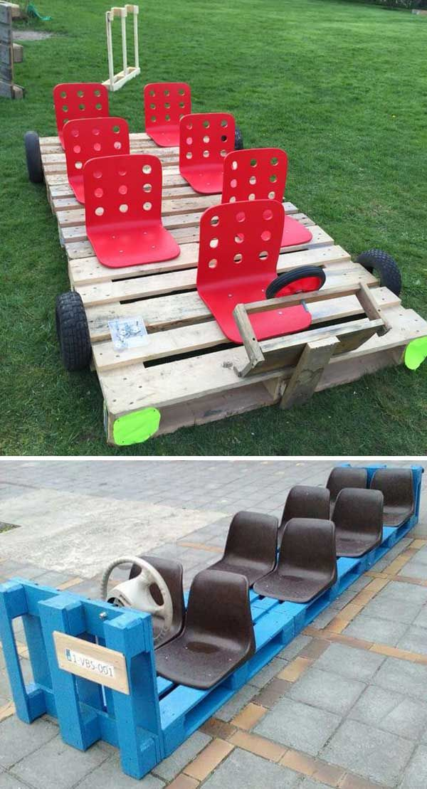 The summer is full of fun. 21 cool palette inspirations, with which children get rid of the boredom during the holidays
