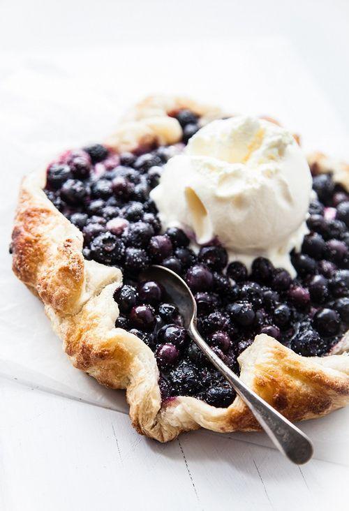 Blueberry Crostata | Easy Cookbook Recipes