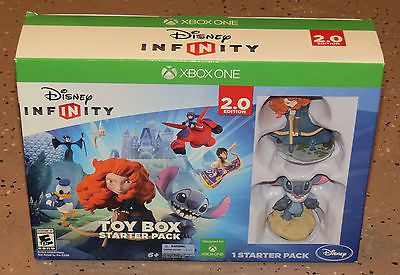 cool Disney Infinity Toy Box Starter Pack (2.0 Edition) (Microsoft Xbox One 2014) - For Sale