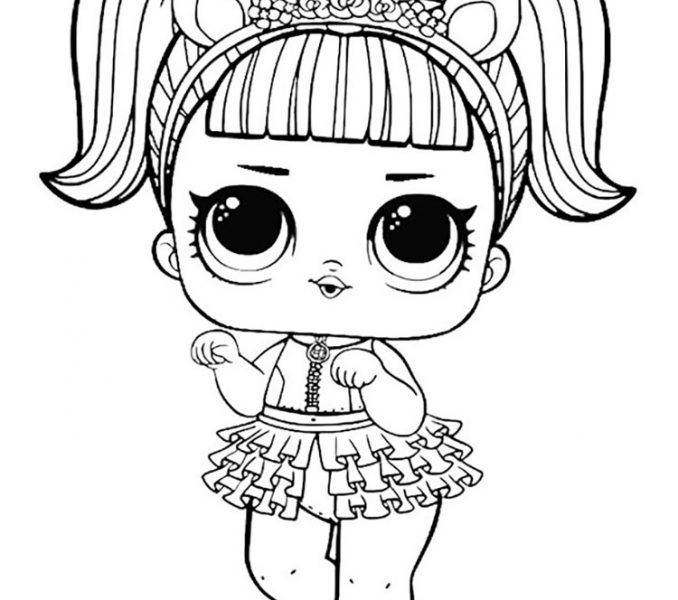 Lol Surprise Doll Coloring Pages Page 7 Color Your Favorite Lol Surprise Doll Lol Dolls Lol Dolls