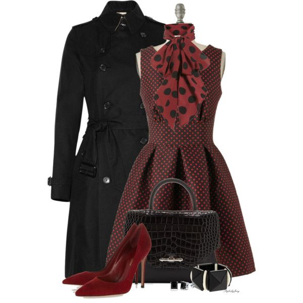 Classic OutfitOutfit Clothing, Burgundy Polka, Polka Dots, Fall Fashion Outfits 2012 19, Dresses, Classic Outfit, Fall Fashion Outfit 2012 19, Outfits Clothing, Dreams Closets