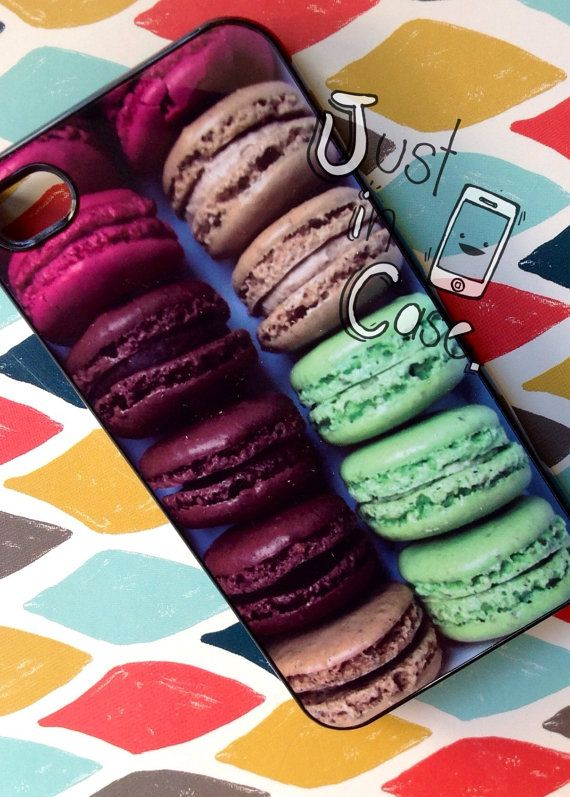 Delicious MACARONS box iphone 5 case // iphone 4s by JustInCasesLA, $19.00 This one reminds me of my Daughter in Love!! :)