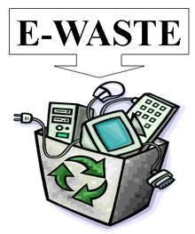 E-waste Collection Day...great fundraising idea for your school, charity, etc.