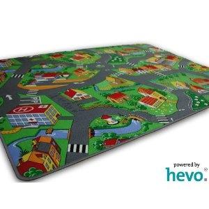 Stadt Land Fluss HEVO Strassen Spielteppich 145x200 cm