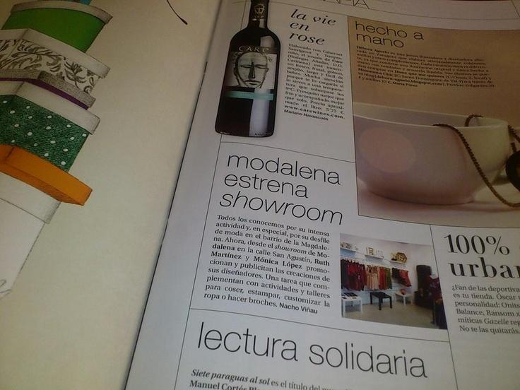 Mi primera colaboración con la revista Poca Pasta