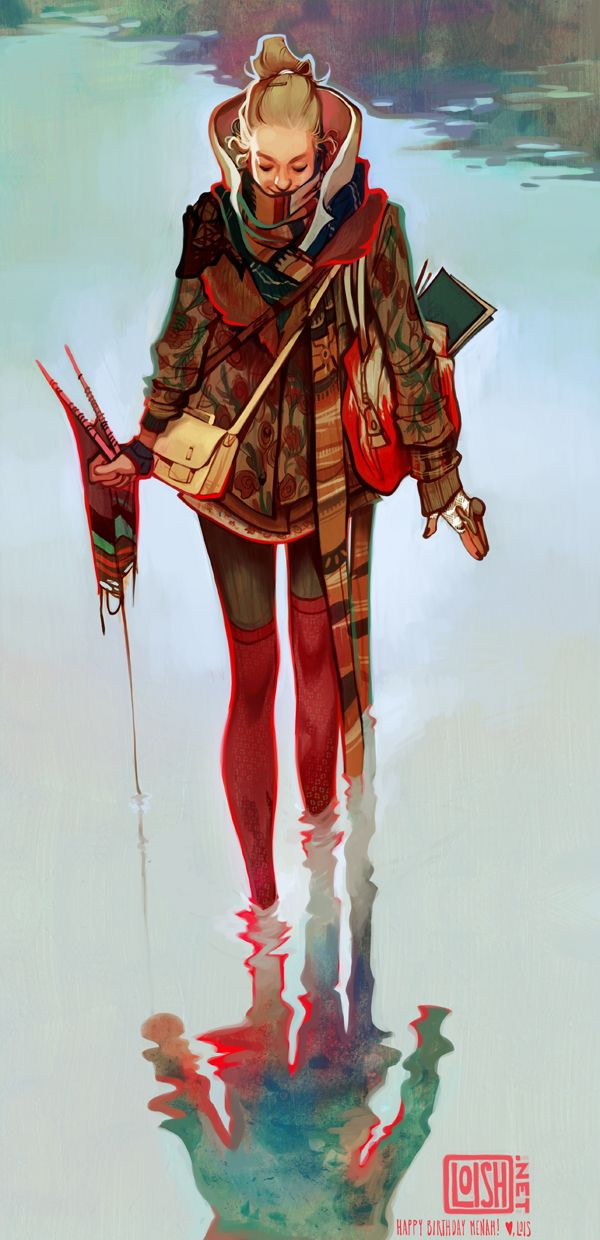Character design and concept development - menah by loish.deviantart.com on @deviantART Damn this be pretty....