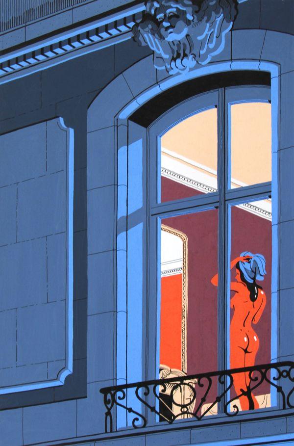Neighbours by Vincent Mahé, via Behance