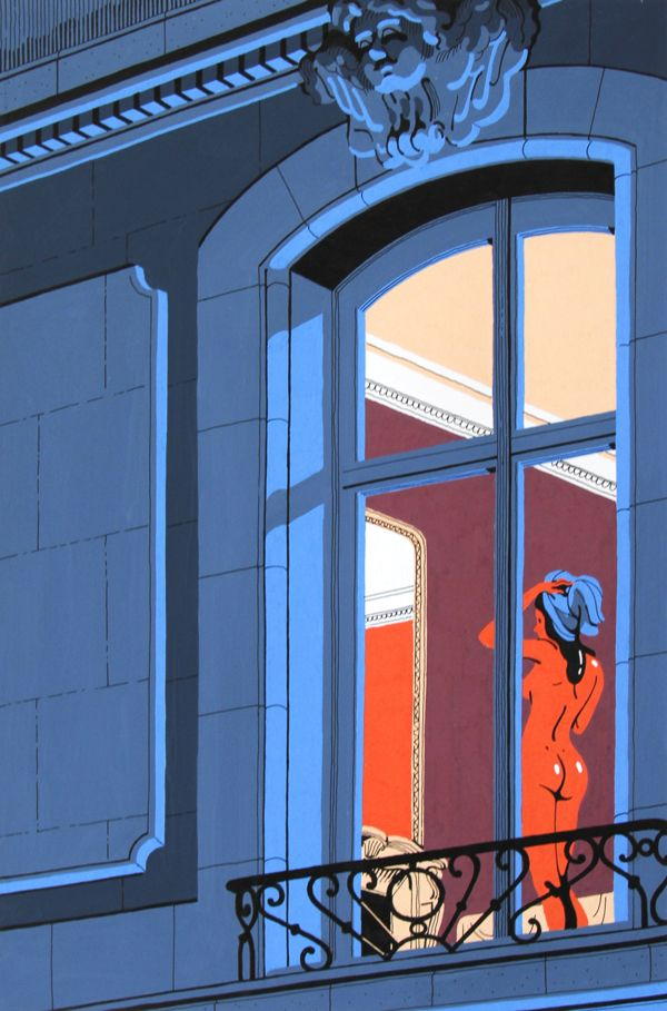 Neighbours by Vincent Mahé, via Behance