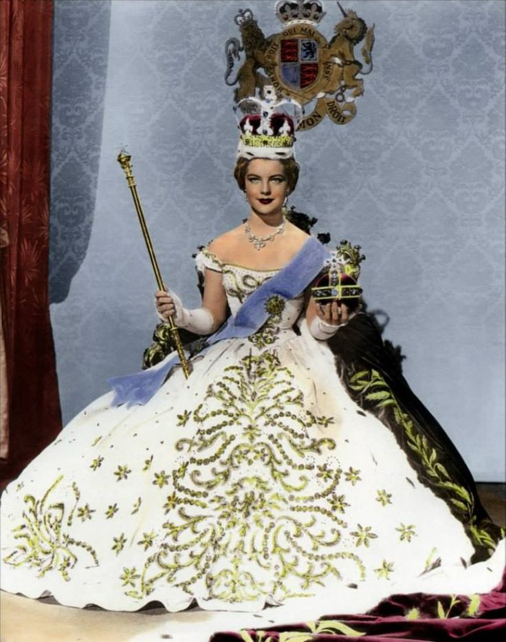 "Romy Schneider as ""Empress Sissi"""