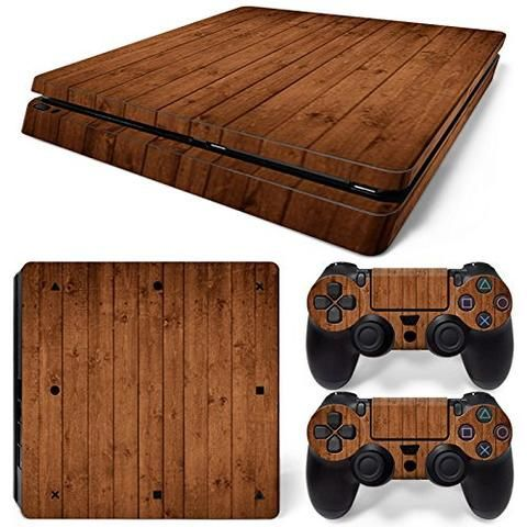 ModFreakz® Console/Controller Vinyl Skin Set – Knotted #wood  for PS4 Slim #PS4 #ModFreakz #vinyl #gaming #accessories #diy #decal