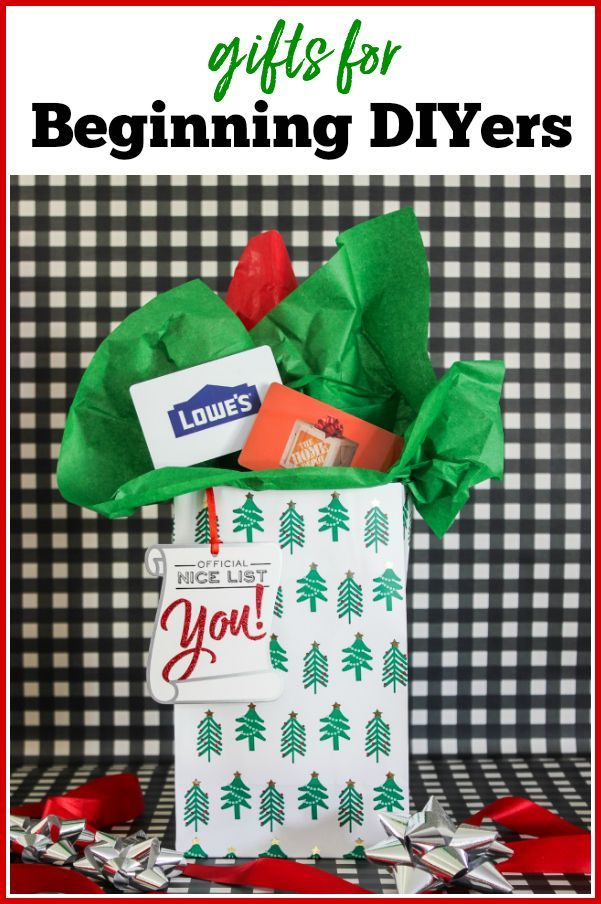 Gifts For Beginning Diyers 20 Things Every Diyer Needs Diy Gifts For Kids Gifts Cool Gifts For Women
