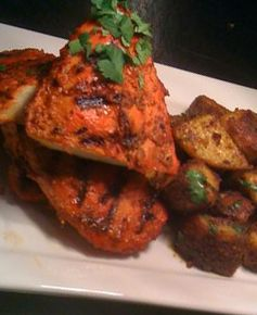 Yummy recipes by Sara Edwards: Tandoori Chicken with Bombay Potatoes