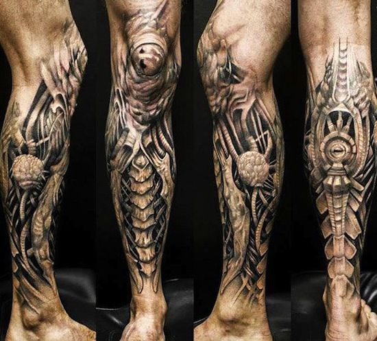 bionic tattoo sleeves - Google Search