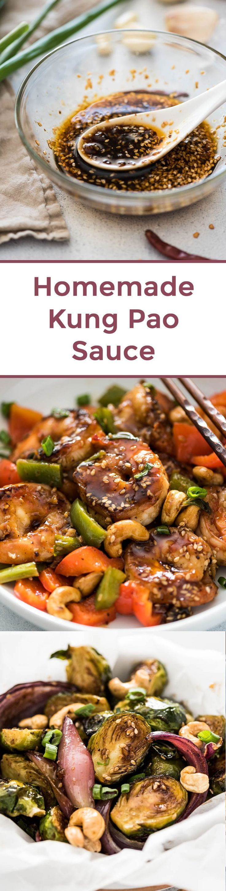 Homemade Kung Pao Sauce - Chinese Sauce | Stir Fry Sauce | Chinese Food | Chinese Recipes | Asian sauce