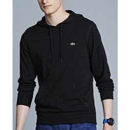 Hooded Jersey T-shirt, Black