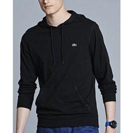 Hooded Jersey T-shirt, Black