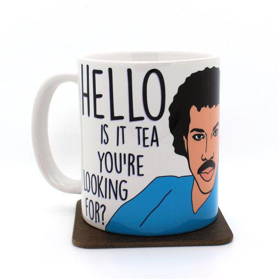 Lionel Richtea Lionel Richie mug funny mug Christmas by Memeskins